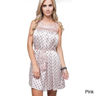 Stanzino Women's Waist Tie Casual Dress