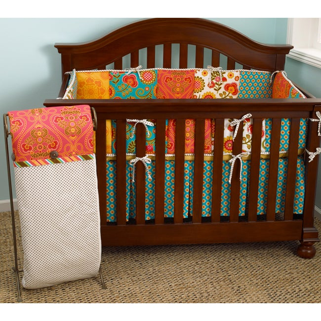 Cotton Tale Gypsy 4-piece Crib Bedding Set