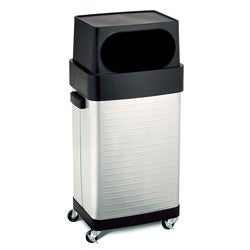 Seville Classics UltraHD Commercial Stainless Steel Trash Bin