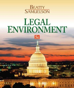Legal Environment (Hardcover)