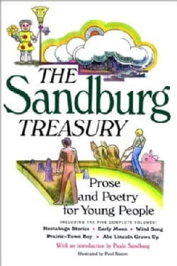 The Sandburg Treasury: Prose and Poetry for Young People (Paperback)