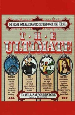 The Ultimate: The Great Armchair Debates Settled Once and for All (Paperback)