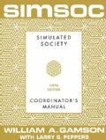 Simsoc: Simulated Society : Coordinator;S Manual With Complete Materials (Paperback)