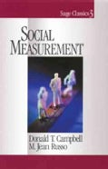 Social Measurement (Paperback)