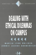 Dealing With Ethical Dilemmas on Campus (Paperback)