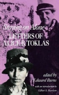Staying on Alone: Letters of Alice B. Toklas (Paperback)