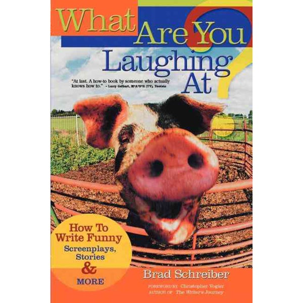 What Are You Laughing at: How to Write Funny Screenplays, Stories, & More (Paperback)