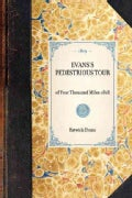 Evans's Pedestrious Tour of Four Thousand Miles - 1818 (Paperback)