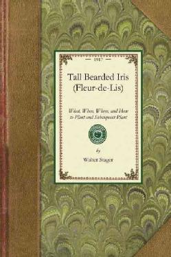 Tall Bearded Iris, Fleur-de-lis (Paperback)
