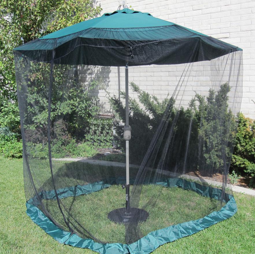 Premium 9 Foot Umbrella Mosquito Net 13090401