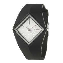 Nixon Women's 'The Groove' Black Polycarbonate Quartz Watch