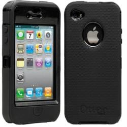 Black Otterbox iPhone 4 Defender Case