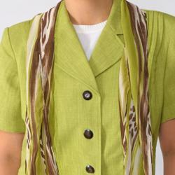 Dana Kay Women's Plus Size 3-piece Pant Suit Set