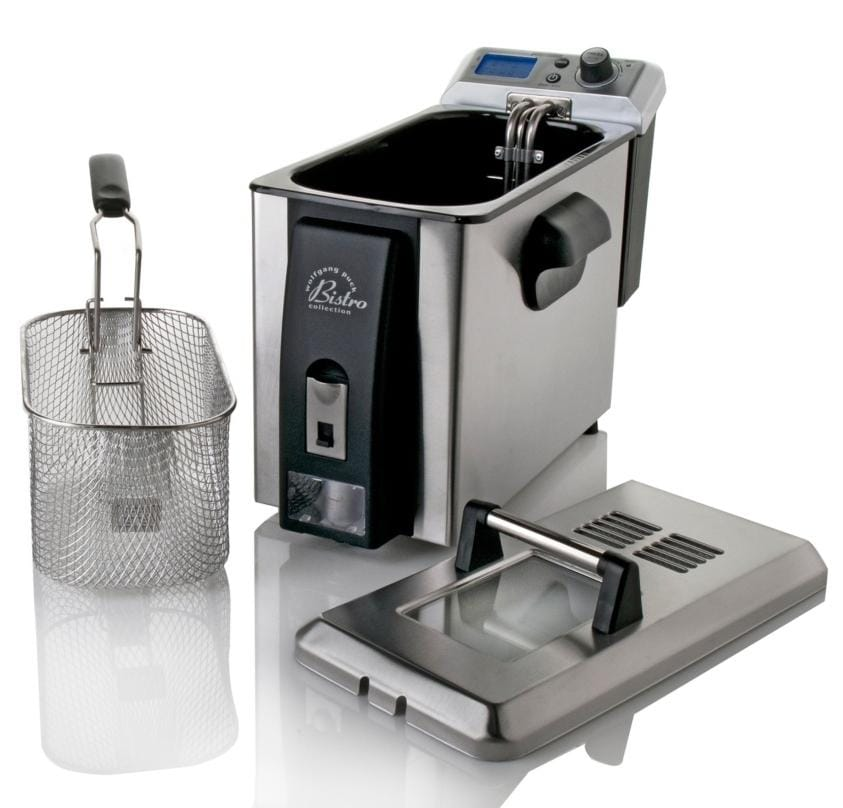 Wolfgang Puck 4-liter Digital Deep Fryer with Oil Drainage System with WP Recipes (Refurbished)