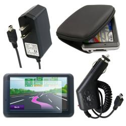 BasAcc 4-piece Combo Kit for Garmin Nuvi 255W
