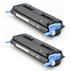 HP Q6000A Remanufactured Black Toner (Pack of 2)