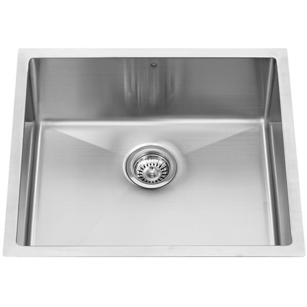 23-inch Undermount Stainless Steel 16 Gauge Stainless Steel Single Kitchen sink