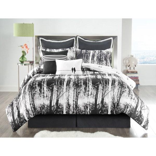 VCNY Woodland Reversible 8-piece Comforter Set
