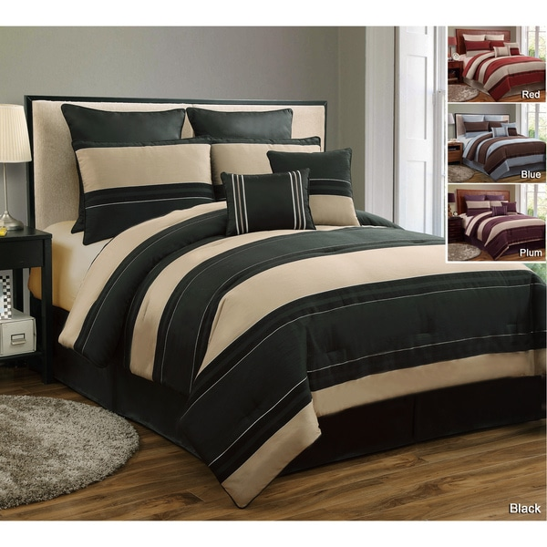 Cambridge 8-piece Chenille Comforter Set
