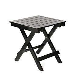 Black Foldable Side Table