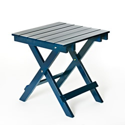 Navy Foldable SideTable