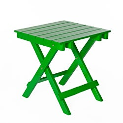 Green Foldable Side Table