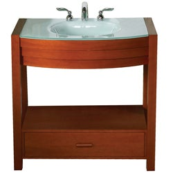 Sag Harbour Cherry Finish 8-inch Vanity