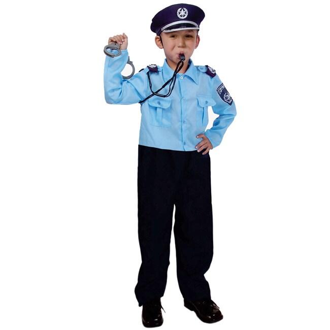 Dress Up America Children's 'Israeli Police Officer' Costume