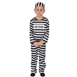 Dress Up America Kids' 'Prisoner' Costume
