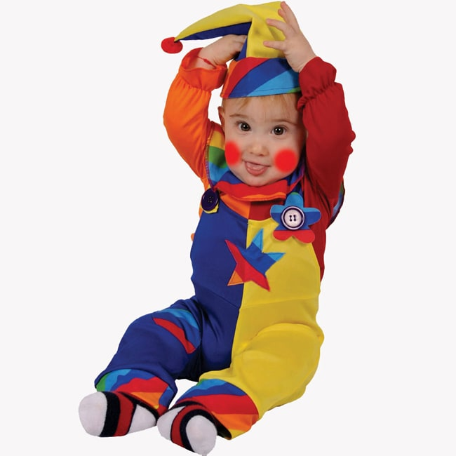 Dress Up America Baby Toddler Cutie Clown Costume
