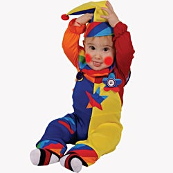 Dress Up America Baby/ Toddler 'Cutie Clown' Costume