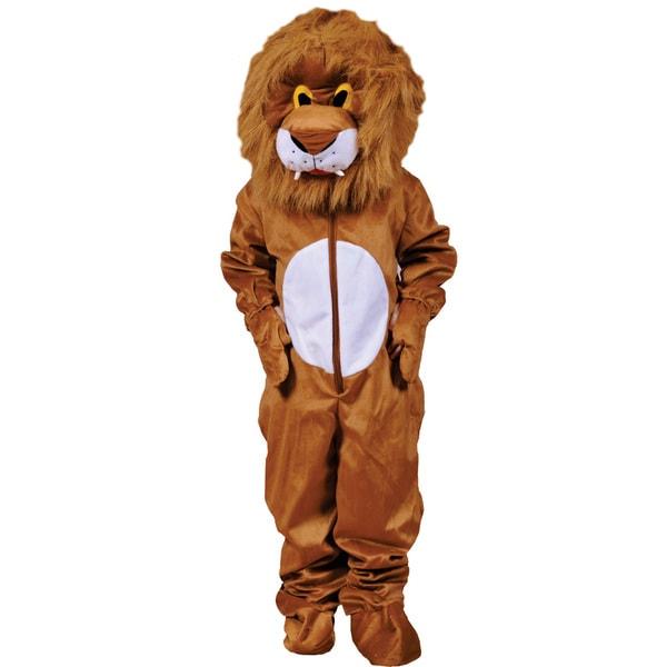 Dress Up America Kids' 'Plush Lion' Costume
