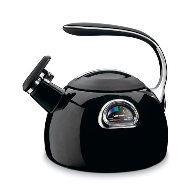 Cuisinart Black Porcelain Enamel Teakettle