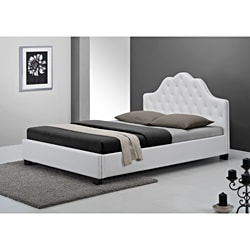 Cassidy White King Size Bed