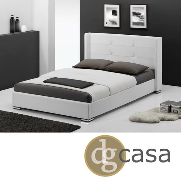 DG Casa White Queen Size Braden Bed
