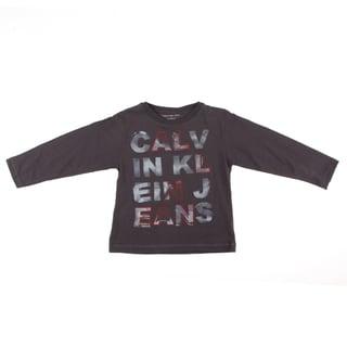Calvin Klein Boys Black 'Calvin Klein Jeans' Shirt