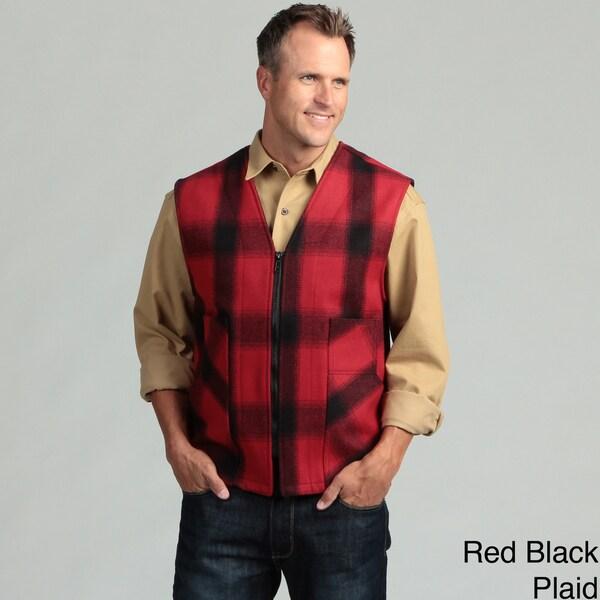 Stormy Kromer Men's Mackinaw Wool Zipper Vest
