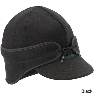 Stormy Kromer Men's Wool/Nylon Thinsulate-lined Brimmed 'Rancher' Cap