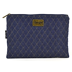 Tango Quilted Denim Travel Utility Bag