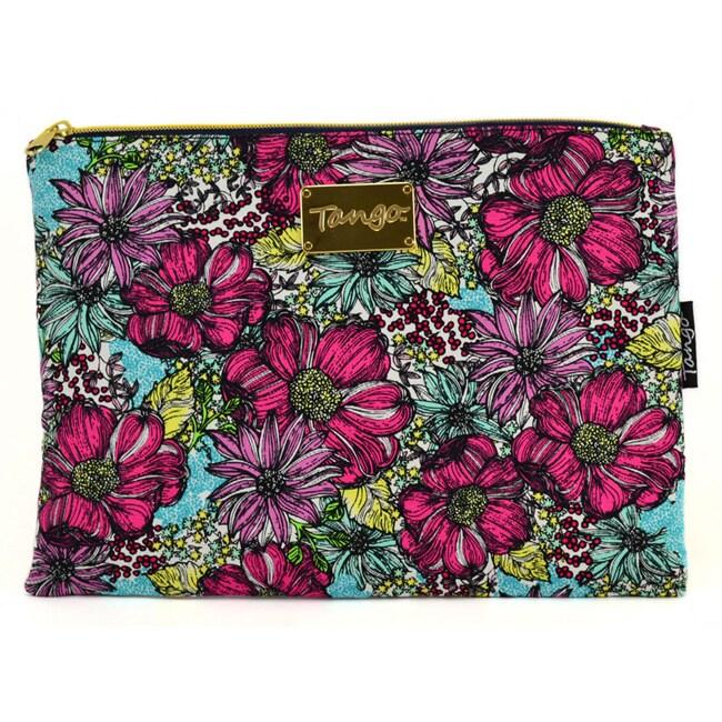 Tango Fresh Floral Travel Utility Bag