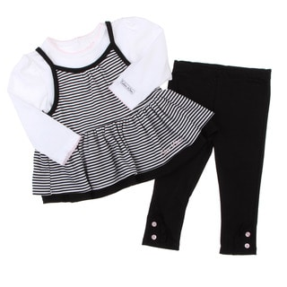Calvin Klein Girl's Black/ White 3-piece Set FINAL SALE