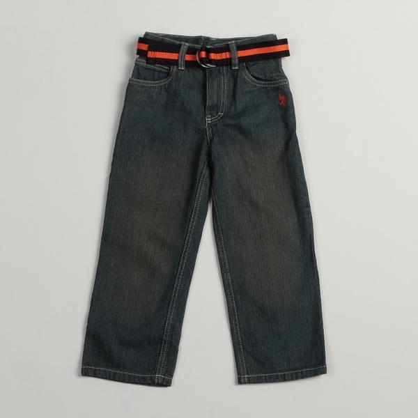 US Polo Boys Blue Vintage Wash Jeans