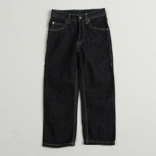 US Polo Boy's Blue Dark Wash 5-pocket Jeans FINAL SALE