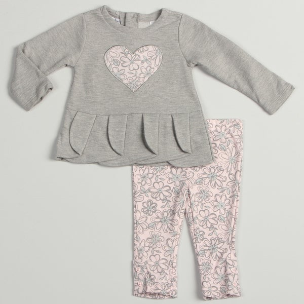 Calvin Klein Infant Girls 2-Piece Set