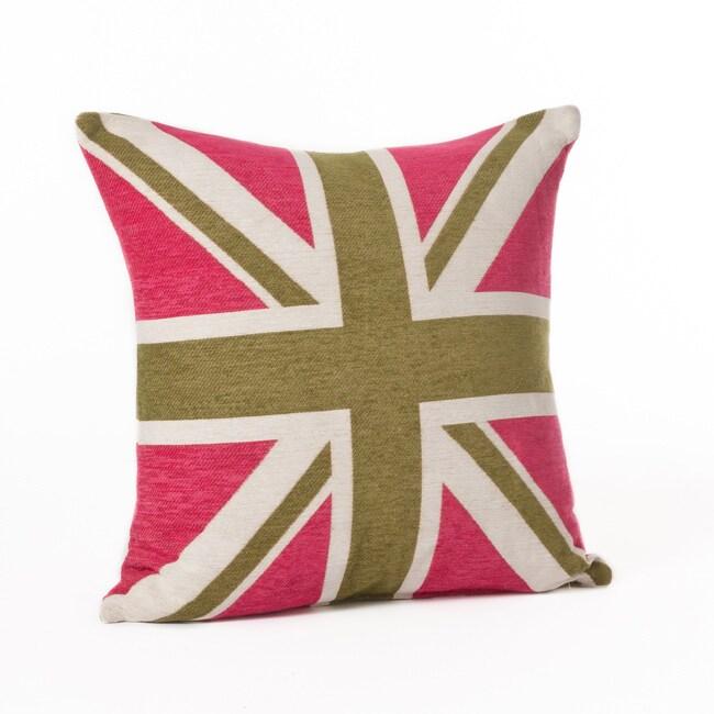 Union Jack 24-inch Throw Pillow
