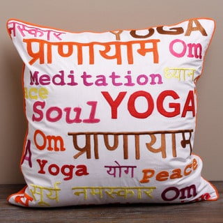 Mediatation Yoga Pillow Cover (India)