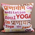 Meditation Yoga Pillow Cover (India)
