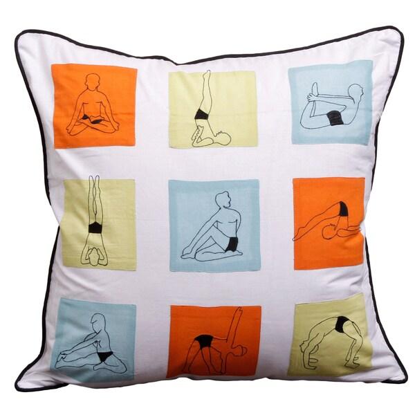 Square Yoga Pillow Cover (India)