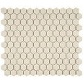Somertile 10 1/4x11 3/4-in Estate Hex Unglazed Porcelain Mosaic Tile (Case of 10)