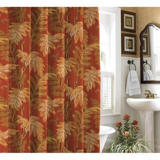 Tommy Bahama Orange Cay Shower Curtain